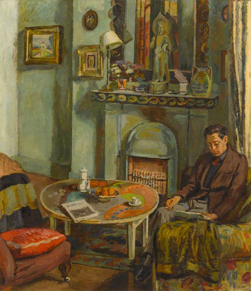 Bell, Vanessa; Interior with Duncan Grant (1885-1978); Williamson Art Gallery & Museum; http://www.artuk.org/artworks/interior-with-duncan-grant-18851978-68497